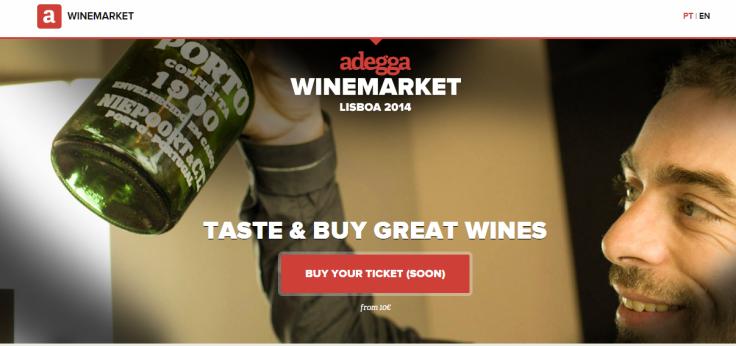 Adegga WineMarket Lisboa 2014   Adegga