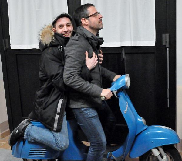 Andre Riberinho  and Fabien Laine