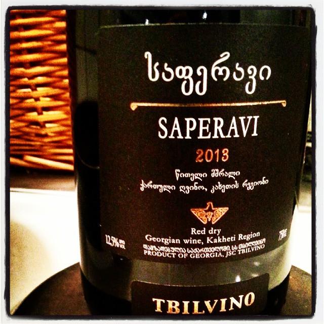 Tbilvino Saperavi 2013