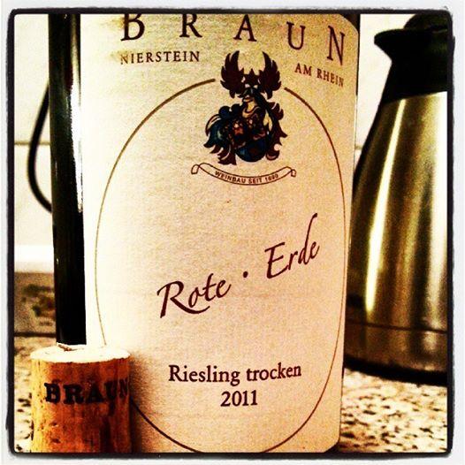 Braun Rote Erde 2011 Riesling