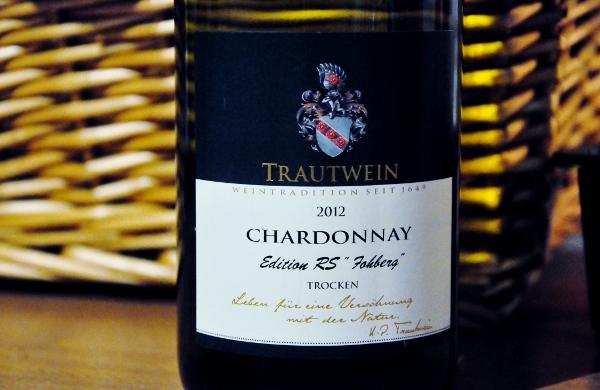 Trautwein Chardonnay 2012 RS Fohberg trocken