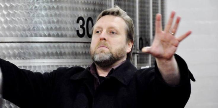 Med på resan kommer min broder i vin Wayne Young, Bastianich